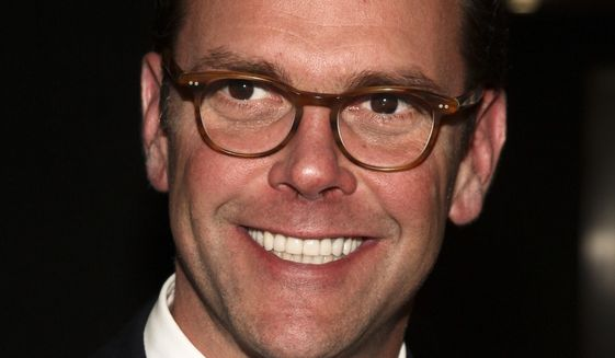 """In this April 19, 2017, photo, James Murdoch attends the National Geographic 2017 """"Further Front"""" network upfront at Jazz at Lincoln Center's Frederick P. Rose Hall in New York.  Murdoch, son of News Corp founder Rupert Murdoch, is resigning from the family-controlled newspaper publisher's board. He cites disagreements over editorial content published by the company's news outlets and other, unspecified strategic decisions. James is known as the more liberal brother. (Photo by Andy Kropa/Invision/AP) **FILE**"""