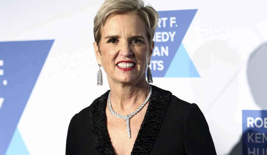 Kerry Kennedy attends the 2019 Robert F. Kennedy Human Rights Ripple of Hope Awards at the New York Hilton Midtown on Thursday, Dec.12, 2019, in New York. (Photo by Greg Allen/Invision/AP)
