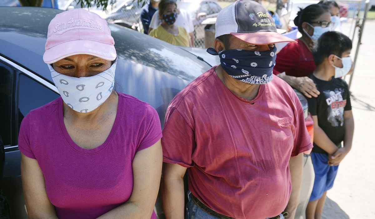Dem lawmakers request free masks for all Americans...