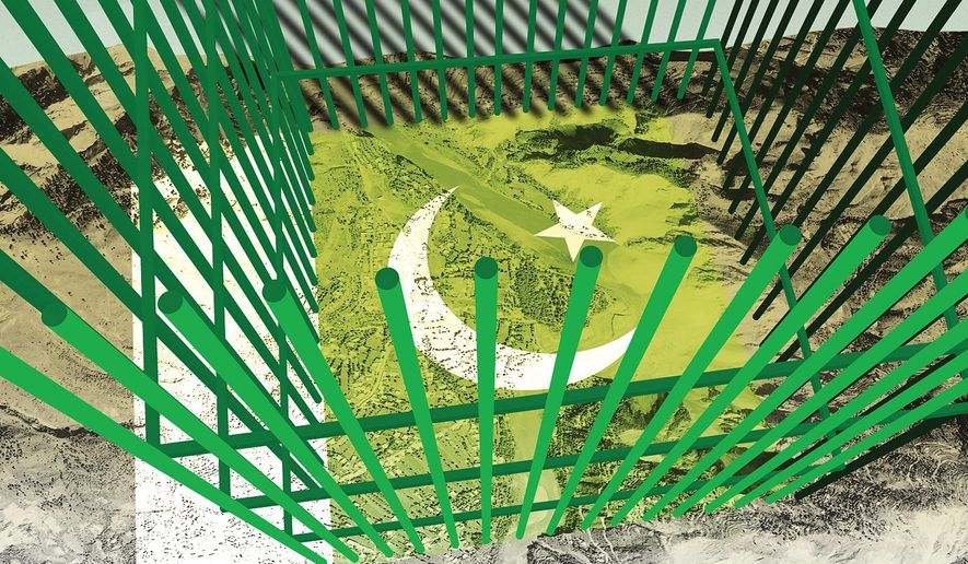 More than 8 million Kashmiris face imprisonment illustration by The Washington Times