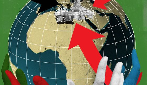 Why Libya deserves better from the world illustration by The Washington Times