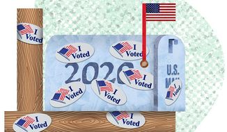 Unraveling the conundrum of mail-in voting illustration by The Washington Times