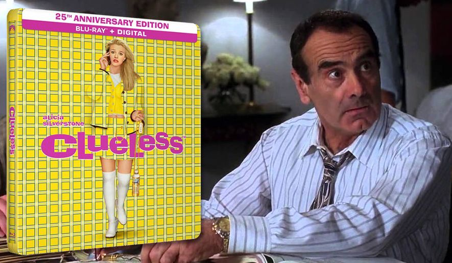 "Dan Hedaya co-stars as strict but well-meaning father Melvin Horowitz in ""Clueless: 25th Anniversary Edition,"" now available from Paramount Home Entertainment."