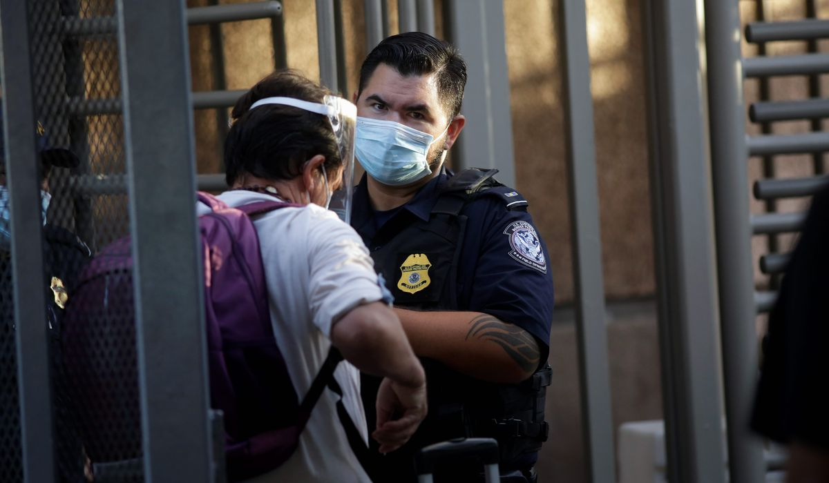 Border chief says illegal immigrants shirking duty to world by spreading coronavirus