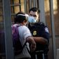 U.S. Customs and Border Protection officers encountered nearly 41,000 people attempting to enter the U.S. without permission last month. The migrants were  defying their own countries' public health guidelines as well as those in the U.S. (Associated Press/File)