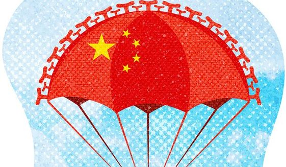 China Bailout Clause Illustration by Greg Groesch/The Washington Times