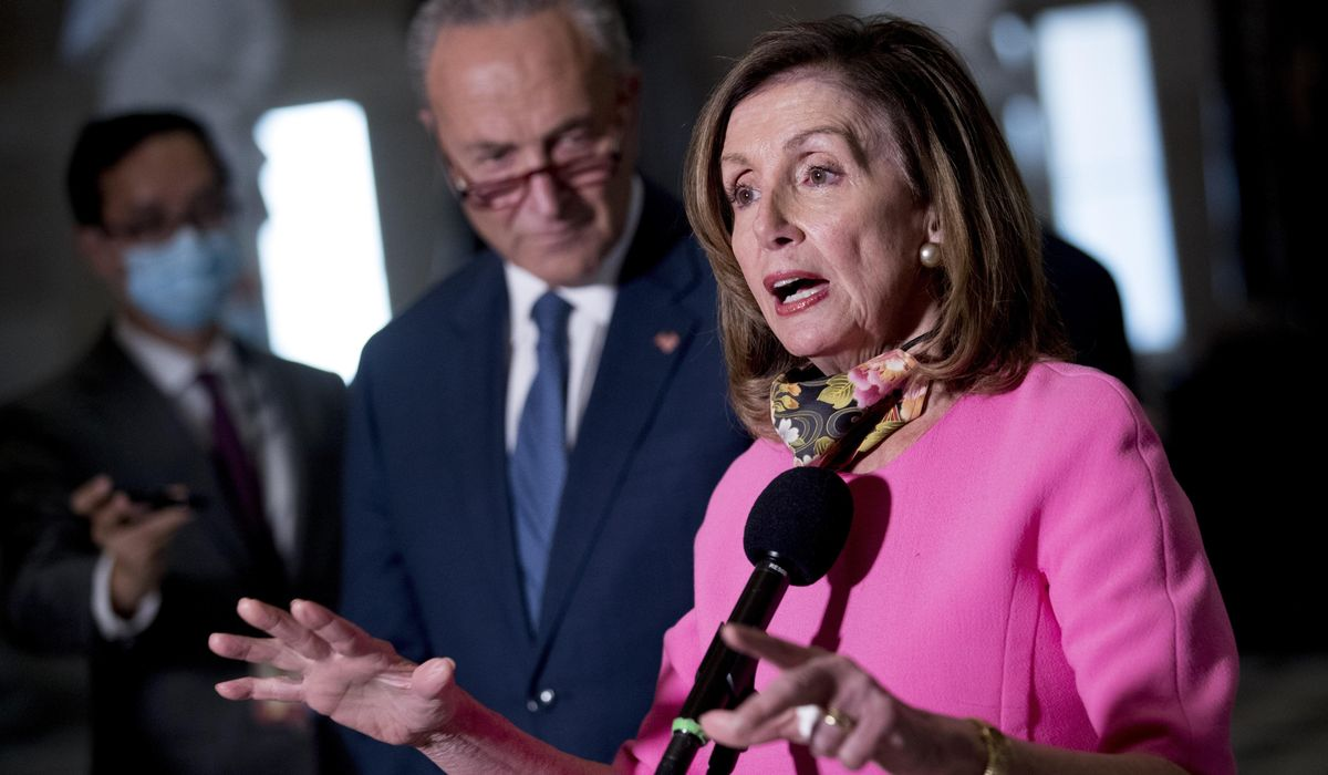 Pelosi, Schumer slam Trump`s `meager` executive orders on...