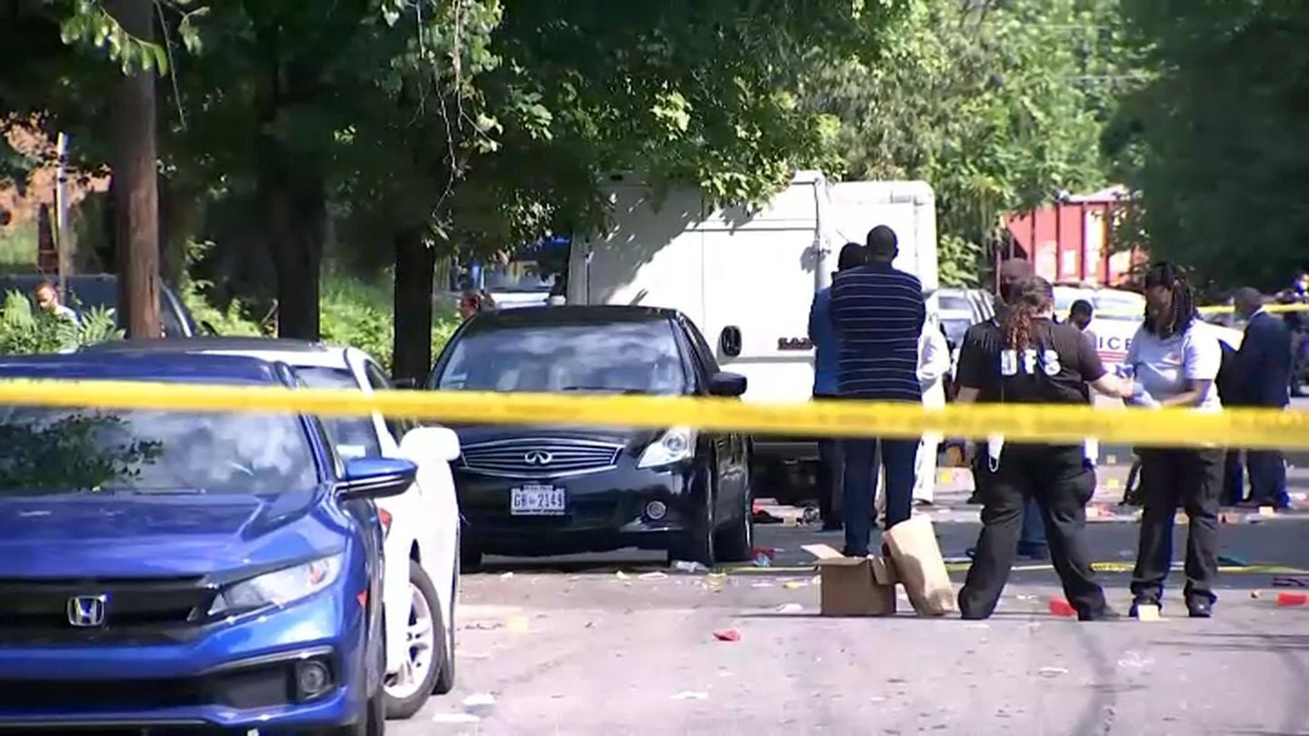 D.C. shooting: One dead, 20 injured