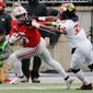 No Terrapins Football: Maryland defenders won't get a chance to chase down their Big Ten Conference rivals in 2020 after the league's university officials decided Tuesday to cancel the season. (Associated Press)
