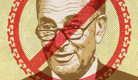 Schumer Sanction Lawyers Illustration by Greg Groesch/The Washington Times