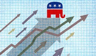 Elephant Trend Illustration by Greg Groesch/The Washington Times