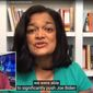 "Rep. Pramila Jayapal talks about the 2020 presidential election on Comedy Central, Aug. 10, 2020. The Democrat assured her Seattle constituents and hard-left voters around the nation that Joseph R. Biden would be ""movable"" if elected in November. (Image: YouTube, ""The Daily Show with Trevor Noah"" video screenshot)"