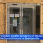 The Ronald McDonald House in Chicago was vandalized during looting early Monday morning while families and their sick children huddled inside, the charity said Tuesday, Aug. 11, 2020. (screengrab via CBS Chicago)