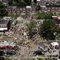 """The Baltimore Gas and Electric Company said ts equipment had been """"operating safely"""" and was not to blame for the natural gas explosion. (ASSOCIATED PRESS)"""