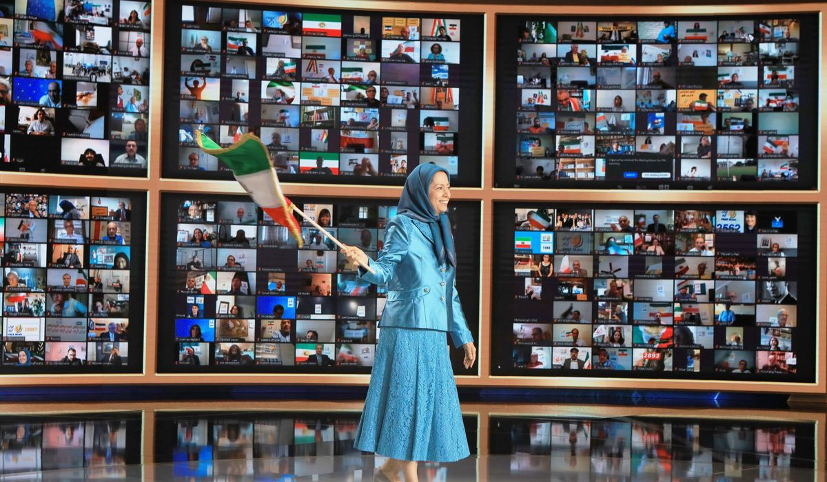 Iranian dissidents rally for regime change in Tehran