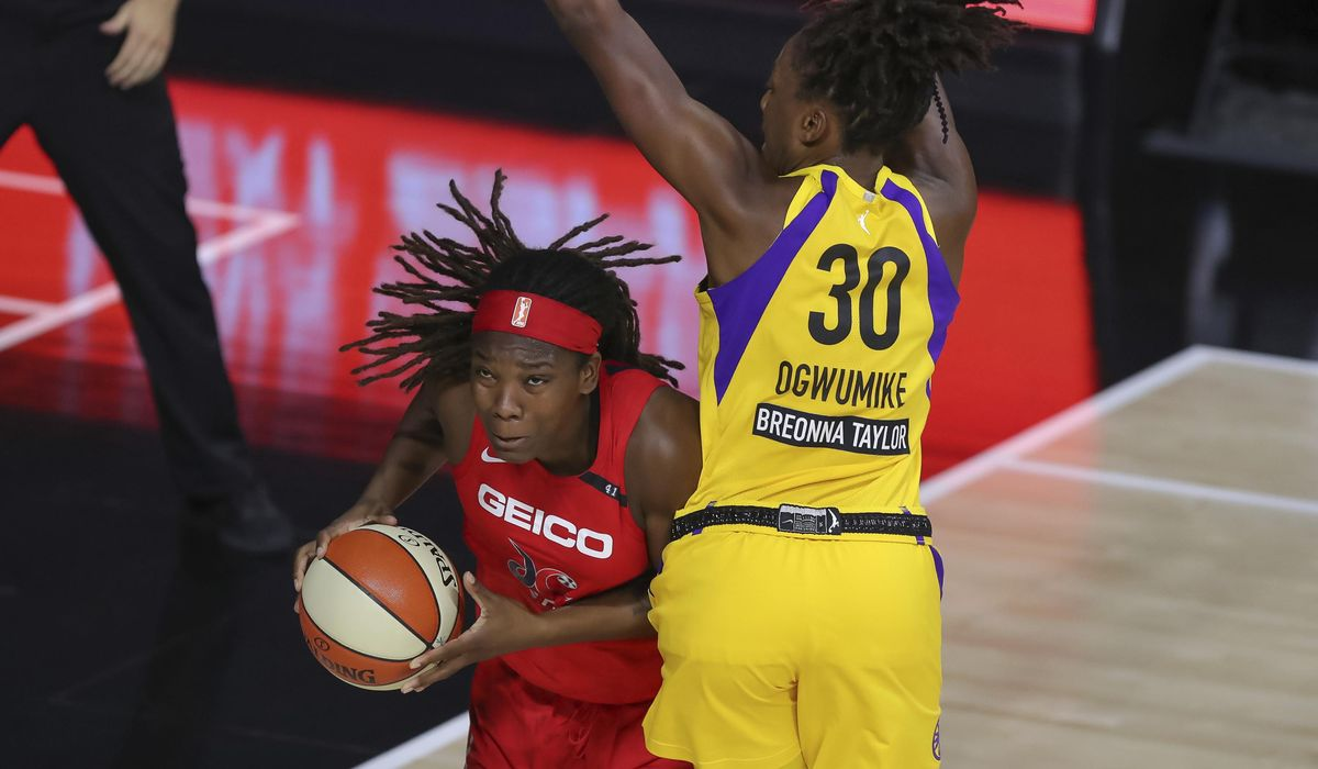 Mystics fall to Sparks for sixth straight loss