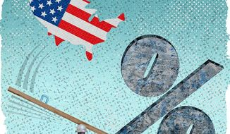 Over Taxed Illustration by Greg Groesch/The Washington Times