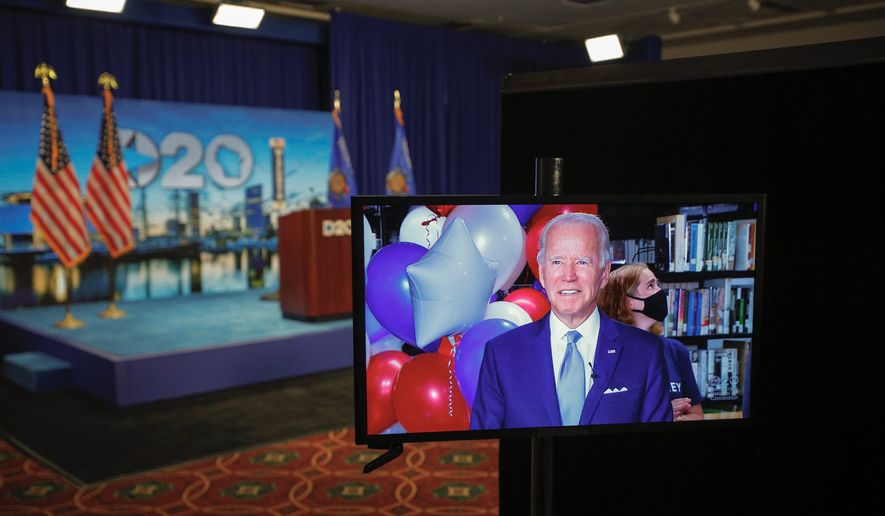 Numerous critics have noted that the Democratic National Convention and presidential hopeful Joseph R. Biden are lacking in making a memorable impression or an emotional effect on voters. (Associated Press)