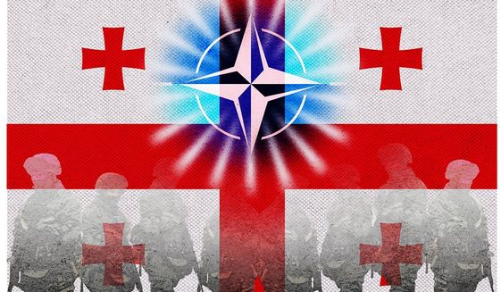 Russian Troop Fade Illustration by Greg Groesch/The Washington Times