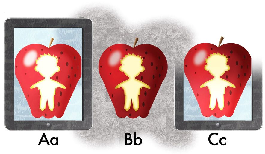 Illustration on this coming year's school options by Alexander Hunter/The Washington Times