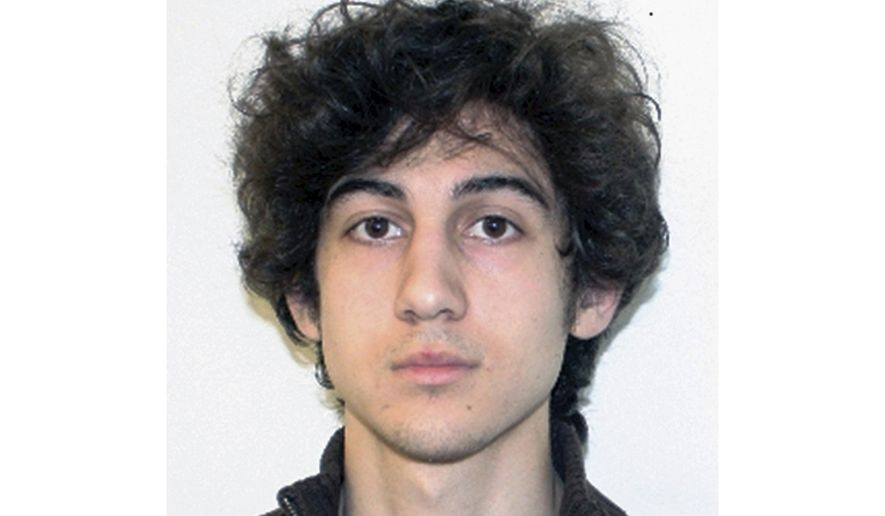 FILE - This file photo released April 19, 2013, by the Federal Bureau of Investigation shows Dzhokhar Tsarnaev, convicted and sentenced to death for carrying out the April 15, 2013 Boston Marathon bombing attack that killed three people and injured more than 260. Attorney General William Barr says the Justice Department will seek to reinstate the death sentence of Boston Marathon bomber Dzhokhar Tsarnaev. (FBI via AP, File)
