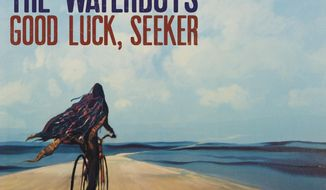 """This cover image released by Cooking Vinyl shows """"Good Luck, Seeker"""" by The Waterboys. (Cooking Vinyl via AP)"""