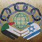 Israel-UAE Agreement Illustration by Greg Groesch/The Washington Times
