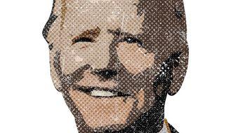 Antique Joe Biden Illustration by Greg Groesch/The Washington Times