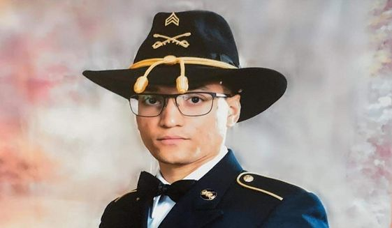 In this file photo provided by the U.S. Army is Sgt. Elder Fernandes. Police say a body found near Fort Hood, Texas, is likely that of Fernandes. Temple police said late Tuesday, Aug. 25, 2020, that identification found with the body indicates the man may be Fernandes. Fernandes is the third soldier from Fort Hood to go missing in the past year. (U.S. Army via AP, File)