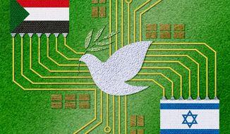 The Israel-UAE Accord Illustration by Greg Groesch/The Washington Times