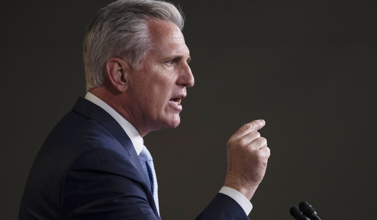 McCarthy threatens to oust Pelosi if impeachment used in Supreme Court fight