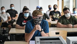 College communities turned into COVID-19 hot spots after in-person learning resumed, a study from the Centers for Disease Control and Prevention has found (Associated Press/File)