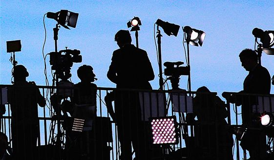 Confidence and trust in the news media has shrunk once again, according to a Pew Research Center study, based on two surveys. (Associated Press)