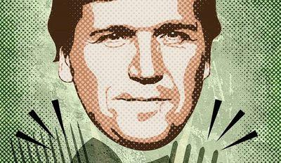 Attacks of Tucker Carlson Illustration by Greg Groesch/The Washington Times