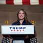 "Republican National Committee chairwoman Ronna McDaniel said ""it's disgusting to watch"" how Democrats are inserting chaos into elections. (Associated Press)"