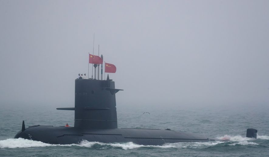 Submarine modernization remains a high priority within the overall nuclear and conventional forces build-up that has been under way in China for the past four decades. (Associated Press)
