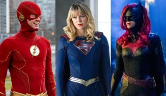 "The latest DC Comics' superhero-themed television shows on the CW network now on the Blu-ray format courtesy of Warner Bros. Home Entertainment include ""The Flash: The Complete Third Season,"" ""Supergirl: The Complete Fifth Season"" and ""Batwoman: The Complete First Season."""