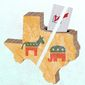 Texas Ballot Illustration by Greg Groesch/The Washington Times