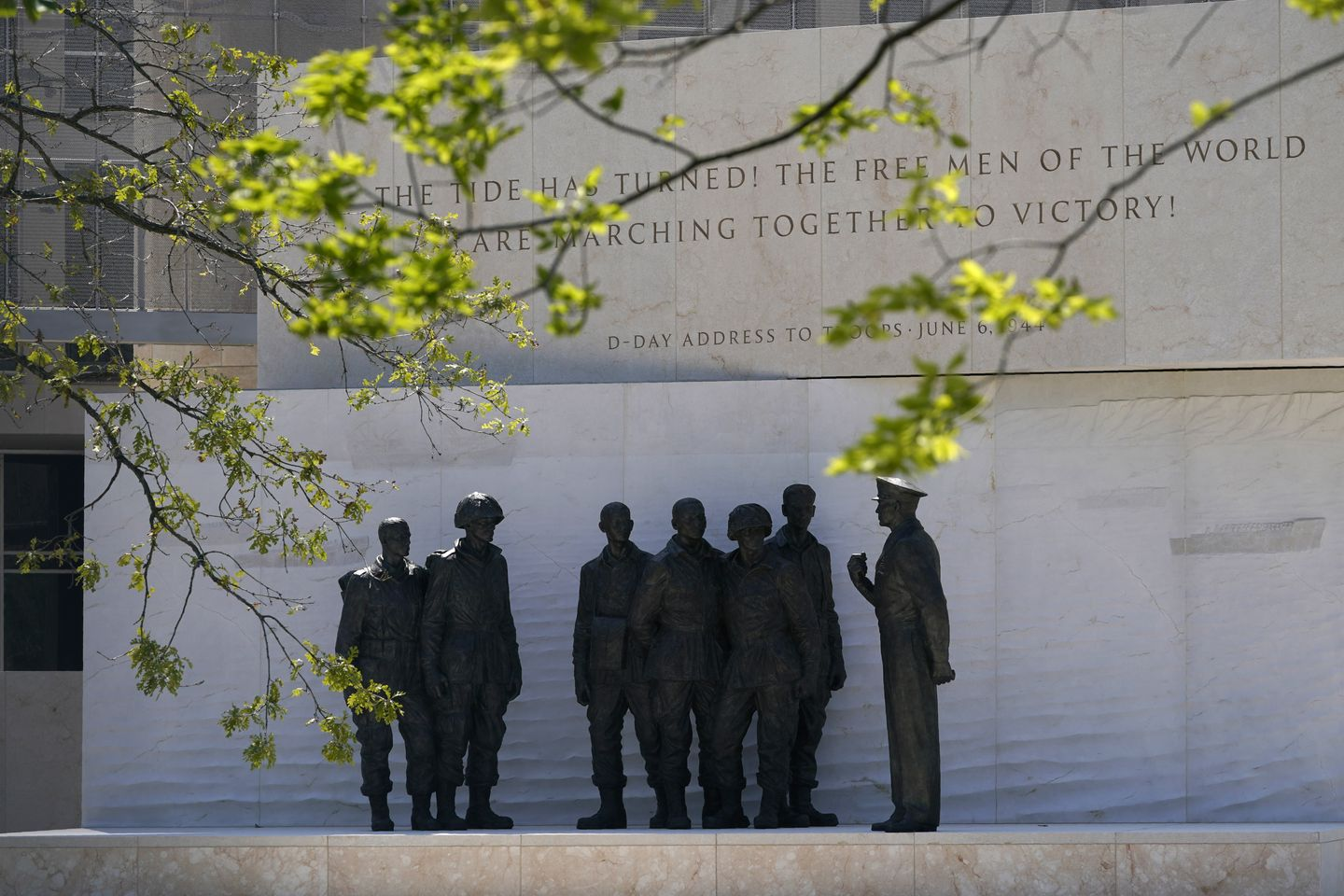 Eisenhower memorial to be dedicated in Washington D.C. after 21 years of fighting