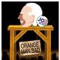 Illustration on Joe Biden's campaign platform by Alexander Hunter/The Washington Times