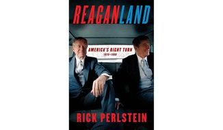 Reaganland: America's Right Turn 1976-1980 (book cover)