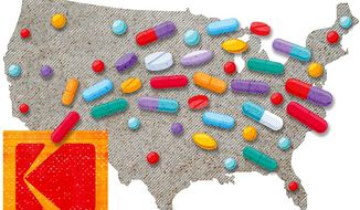Domestic Production of Medications Illustration by Greg Groesch/The Washington Times