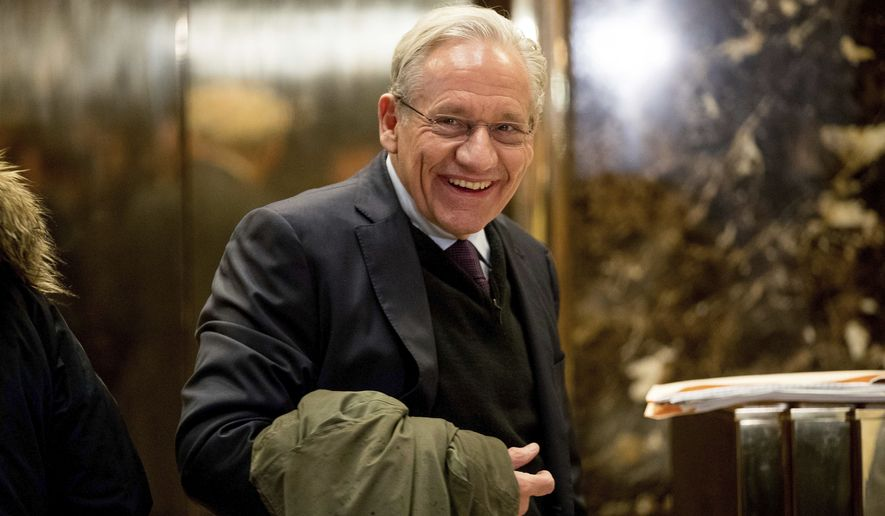 In this Jan. 3, 2017, file photo The Washington Post associate editor Bob Woodward arrives at Trump Tower in New York. Woodward, facing widespread criticism for only now revealing President Donald Trump's early concerns about the severity of the coronavirus, told The Associated Press that he needed time to be sure that Trump's private comments from February were accurate. (AP Photo/Andrew Harnik, File)