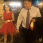 In this screen grab from a widely circulated video, Susan Young (left), a member of the D.C. GOP Council, and Republican National Committeeman Chris Ager purportedly encounter a group of protesters on Aug. 27 as they leave the White House, where they had attended the final night of the Republican National Convention and President Trump's speech accepting the reelection nomination.