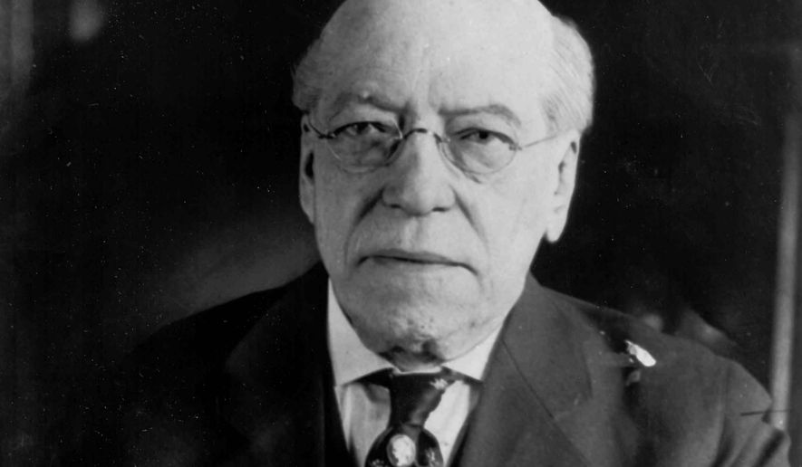 """Samuel Gompers, the first president of the American Federation of Labor, is an icon to Mark Mix, a tireless fighter for """"right to work"""" laws in the U.S. (Associated Press)"""