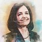 Judy Shelton Illustration by Greg Groesch/The Washington Times