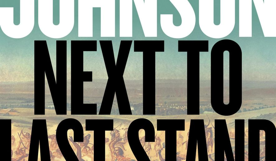 """This cover image released by Viking shows """"Next to Last Stand"""" by Craig Johnson. (Viking via AP)"""
