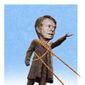 Illustration on the revised view of Jimmy Carter by Alexander Hunter/The Washington Times