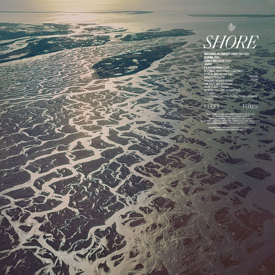 """This cover image released by Anti shows """"Shore"""" by Fleet Foxes. (Anti via AP)"""