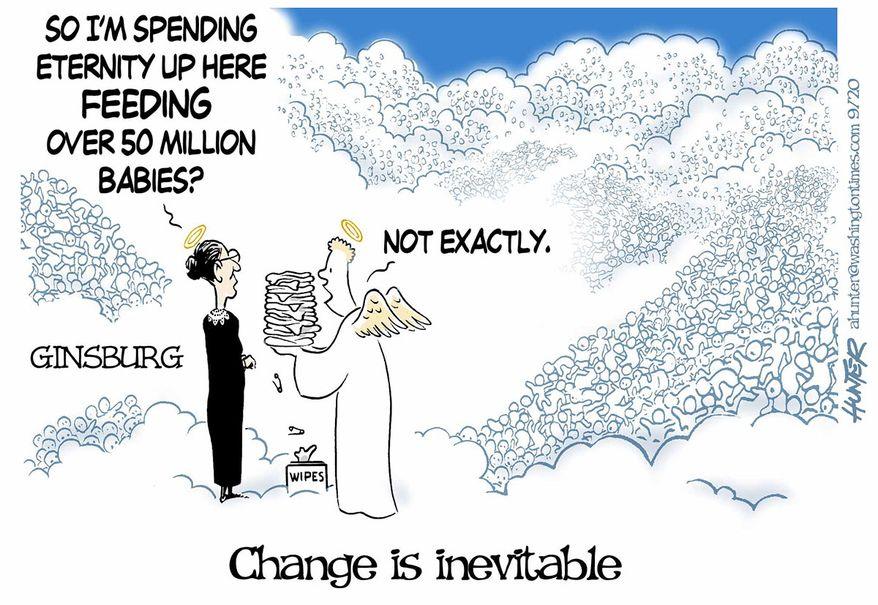 Illustration by Alexander Hunter for The Washington Times (published September 24, 2020)